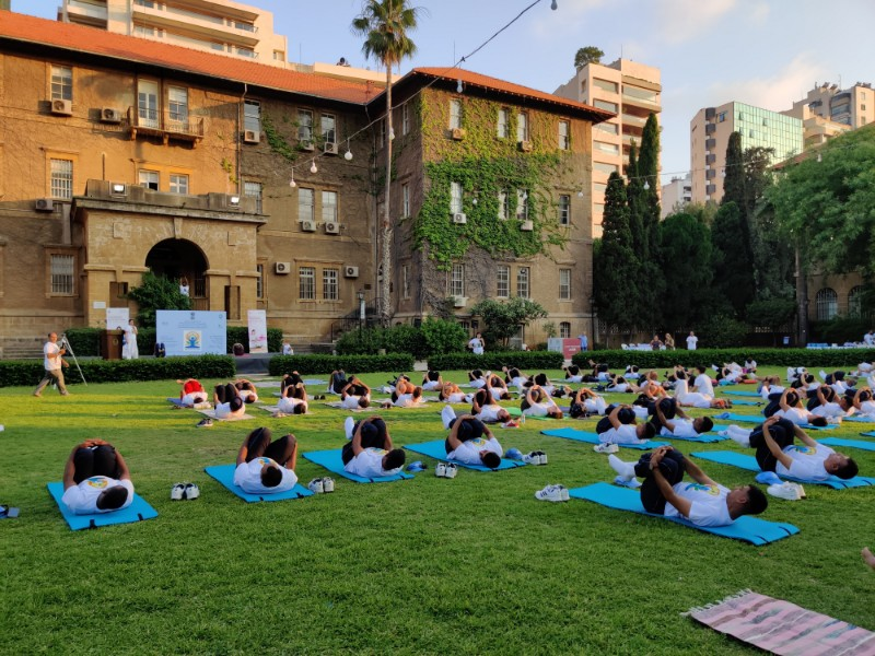 Public Celebration of 5th International Day of Yoga 2019